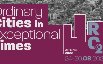 RC21 2022 in Athens: Call for Sessions