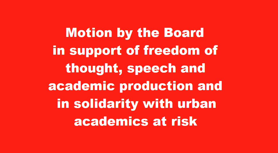 Motion by the Board